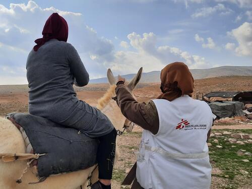 Mobile clinics Hebron Dec-20