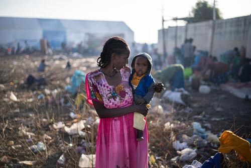 Ethiopian Refugees Crossing: Hamdayet Entry Point
