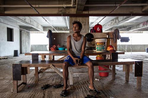 A Rohingya in Malaysia - Iman in Penang