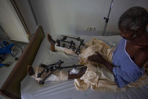 Haiti earthquake - Tabarre