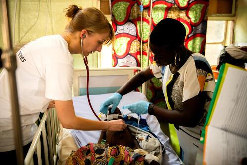 Zamfara: Paediatric Ward Sarah Bature /Valerie Weiss