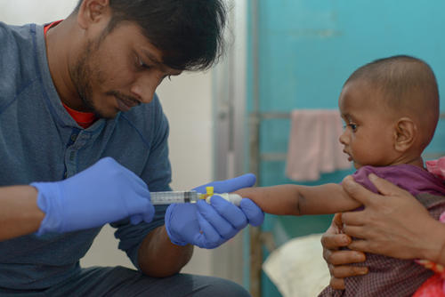 Measles - Baby Atiullah