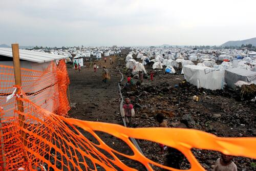 Mugunga IDP camp 3, west of Goma, the capital of North-Kivu Province