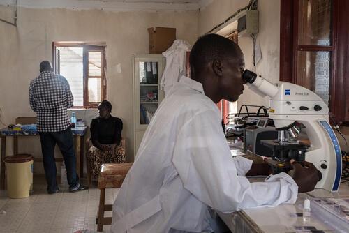 MSF hospital in Agok