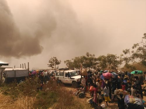 Fighting in Malakal, South Sudan