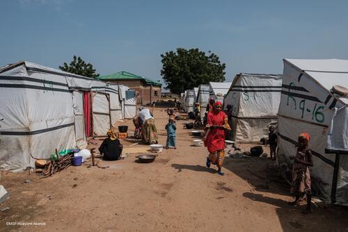 Anka IDP camp