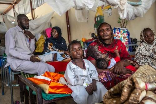 Malaria outbreak in North Darfur, Sudan