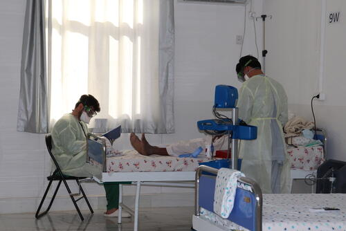 Herat Covid-19 Treatment Centre (CTC)