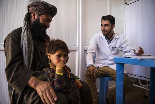 IDP camp in Herat