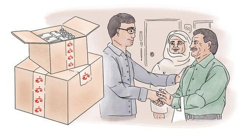 Idlib- Beyond Trauma Injuries - Illustration 03