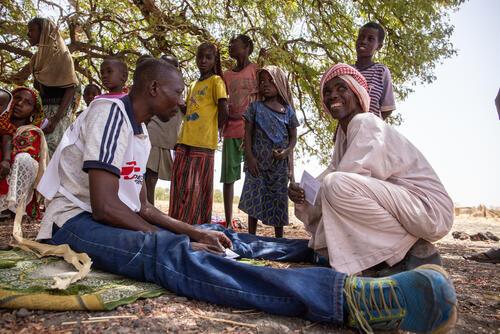 Testimony - Mahamad from Kieke (Vaccination Site)