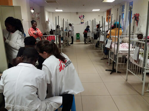 Malaria Outbreak in Huambo