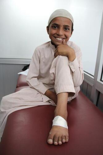 Sabit Story - Cutaneous Leishmaniasis Treatment, Peshawar