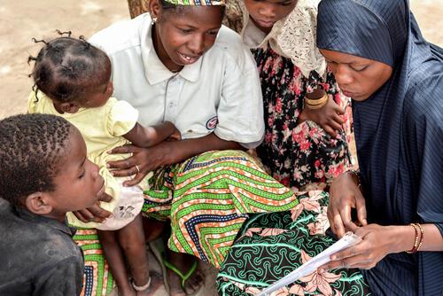 Fighting malnutrition through preventive approach – Parents MUAC