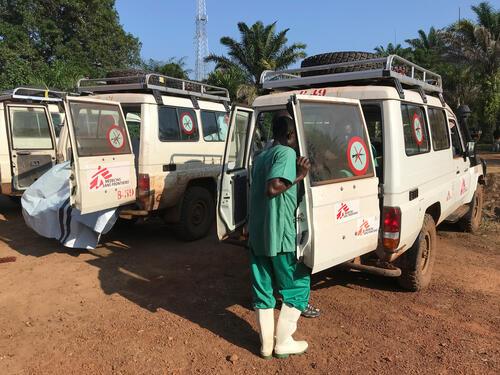 Ebola Treatment Centre (ETC) in Bikoro