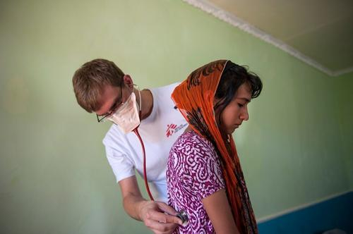 Treating MDR-TB in Tajikistan, Dushanbe, Sept 2013