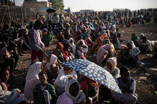 لجوء آلاف الإثيوبيين إلى السودان
