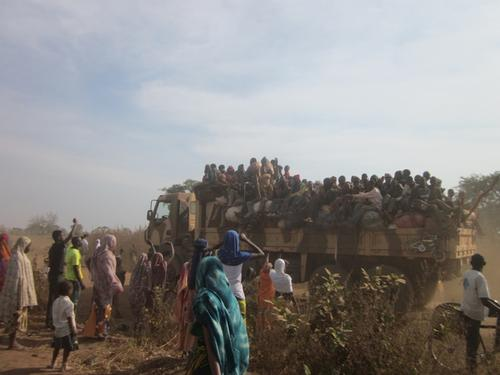 Chad, tens of thousands flee violence in CAR