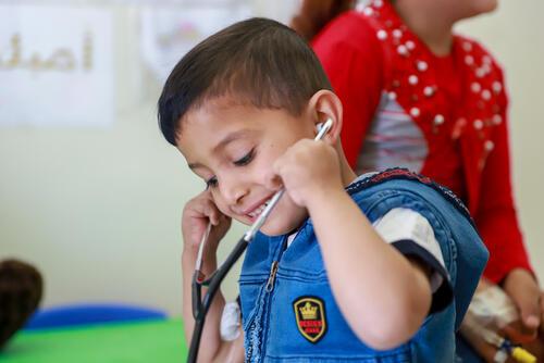 Kids'Zone at MSF Thalassemia programme
