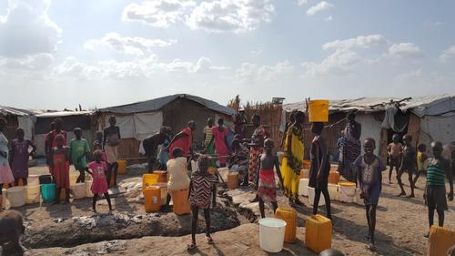 Medical activities in Bentiu PoC, South Sudan, 2016