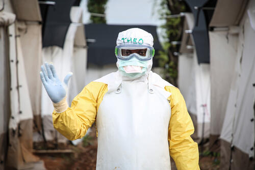 Ebola response in Mangina