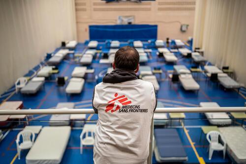 MSF Intervention in Leganés
