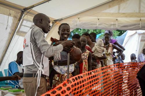 Juba Cholera Vaccination Juillet 2016