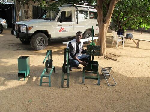 Michael Githinji on Mission in Pulka, North East Nigeria