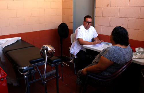MSF PRESENCE IN RED ZONES OF SAN SALVADOR ALLOWS HEALTH OFFICIALS TO RESTART ACTIVITIES