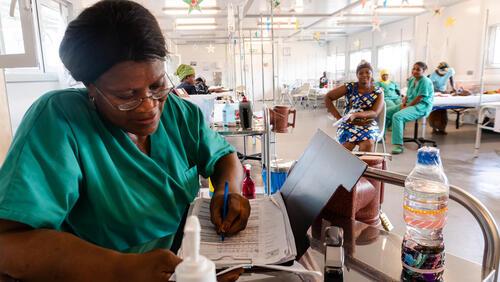 Hangha hospital opening in Kenema district, Sierra Leone