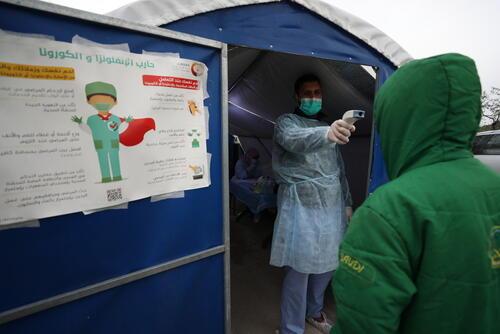 Coronavirus COVID-19 Prevention in Northwest Syria