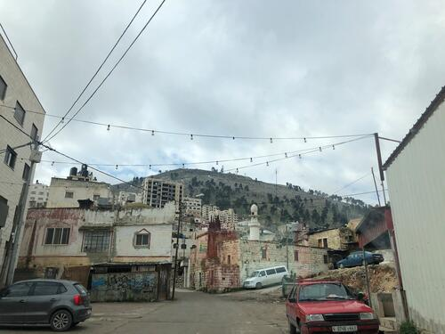 Streets of Nablus, West Bank