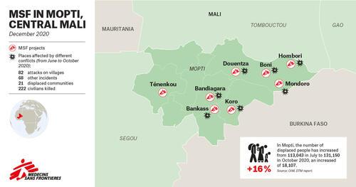 MAP –MSF in Mopti region – EN