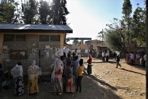 Ethiopia: Tigray's cities fill with displaced people fleeing insecurity