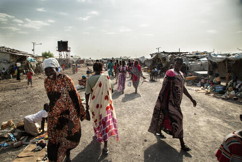 Still enormous humanitarian needs in South Sudan