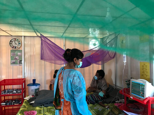 Diphtheria intervention in Cox's Bazar