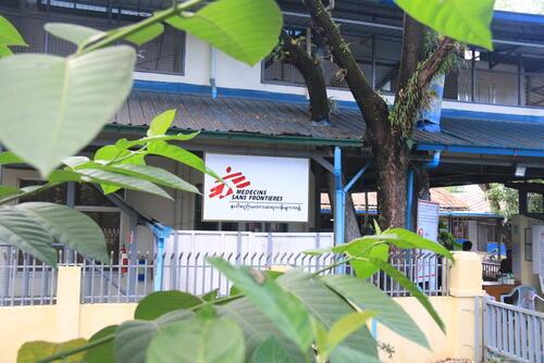 Closure of Yangon HIV project