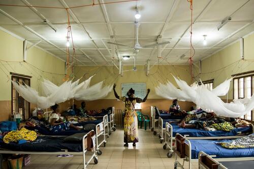 MSF Hospital in Kabala, Sierra Leone