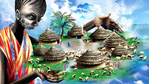 16:9 Chacha describing Mallodin village