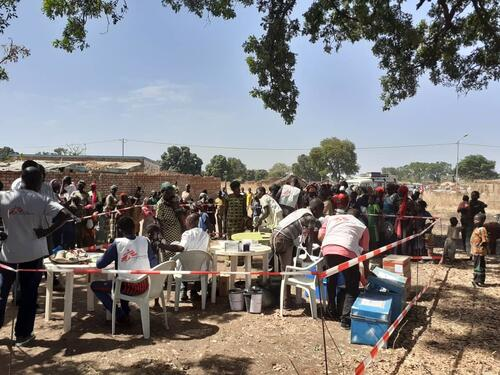 Chad Measles Epidemic in the Shadow of COVID-19