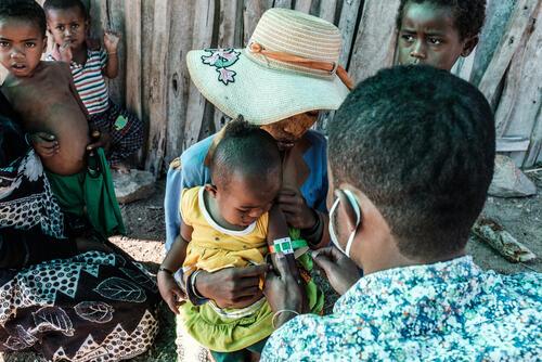 أنشطة أطباء بلا حدود في مدغشقر