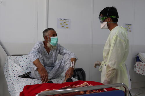 Herat Covid-19 Treatment Centre (CTC)