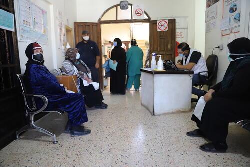 MSF clinic Hermel
