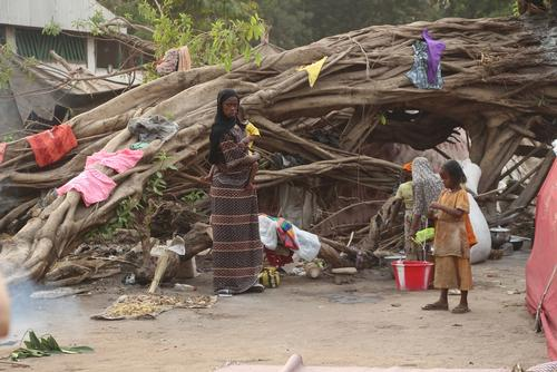 In Gore refugees who fled violence in CAR