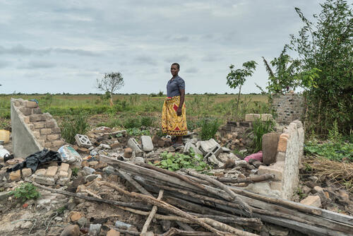The destruction caused by Cyclone Idai in Mozambique