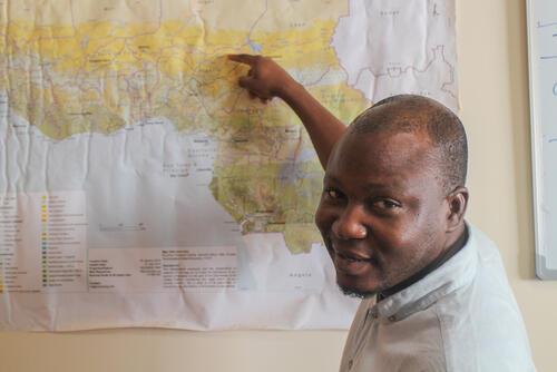 Franck Ale - MSF Epidemiologist