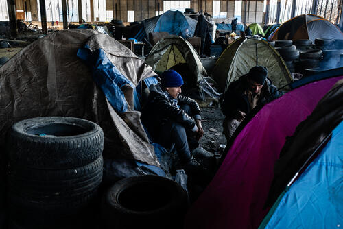 Refugees in Bosnia