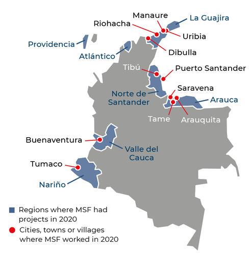 Colombia Activities 2020