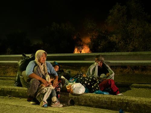 MSF response to Moria Fire