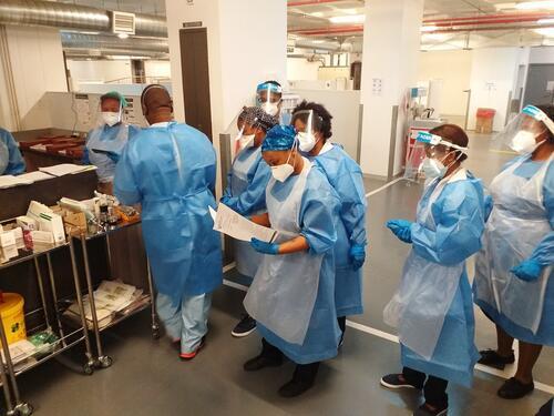 Livingstone Hospital COVID-19 Team